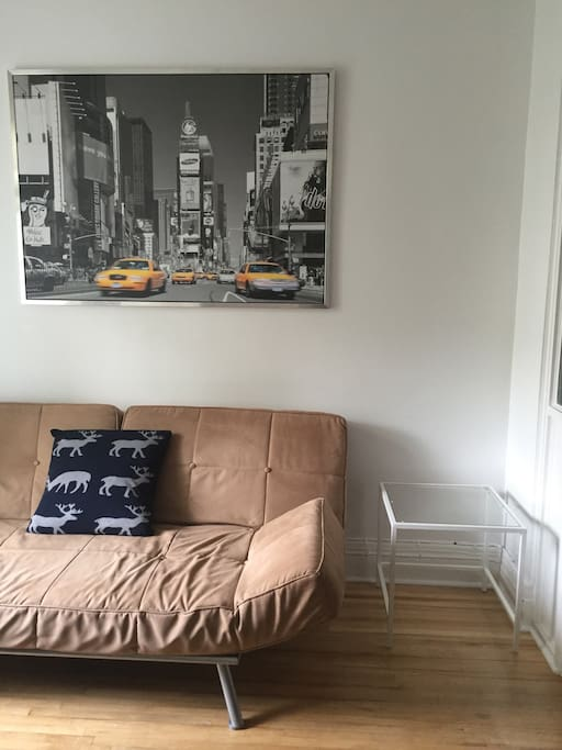 2e chambre - avec un futon double
