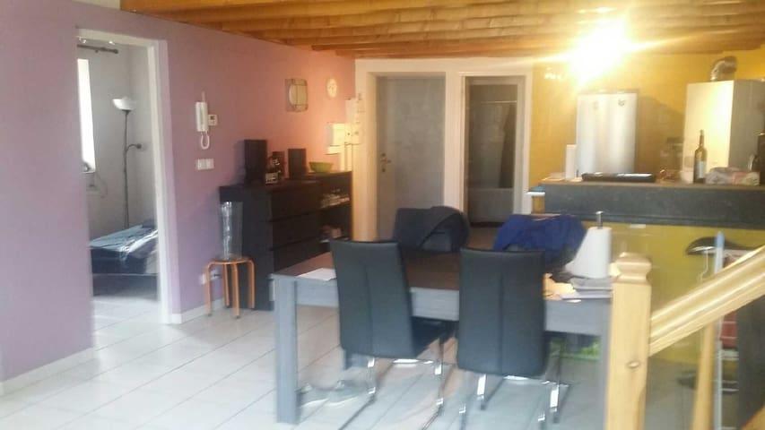 Duplex centre ville saint paulien - Saint-Paulien - Apartment