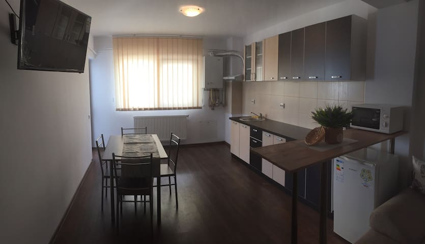 New and modern 1 bedroom apartment - Șelimbăr - Daire
