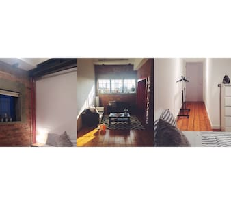 Beautiful double en-suite in warehouse conversion - London - Loft