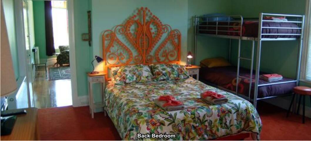 Apartment 1 back bedroom