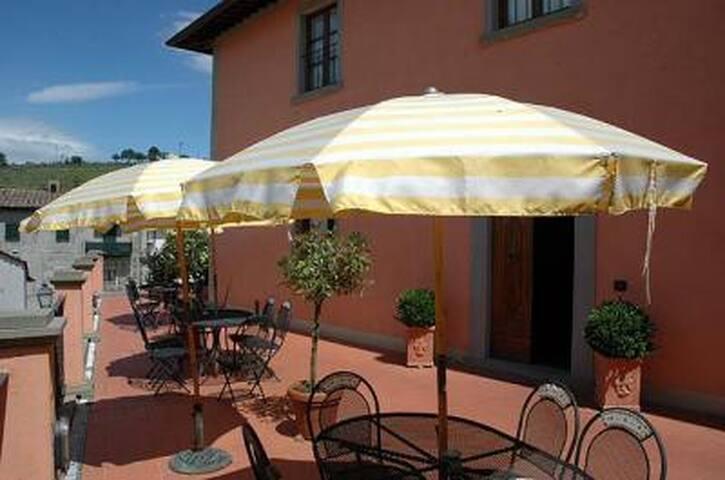 The commun terrace