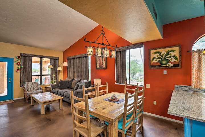 NEW! Colorful Casa in Resort Fit for Snowbirds!
