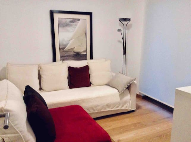 Ground floor bedroom with its own bathroom 1 person sofa 90/200 cm For 1 adult or 2 children
