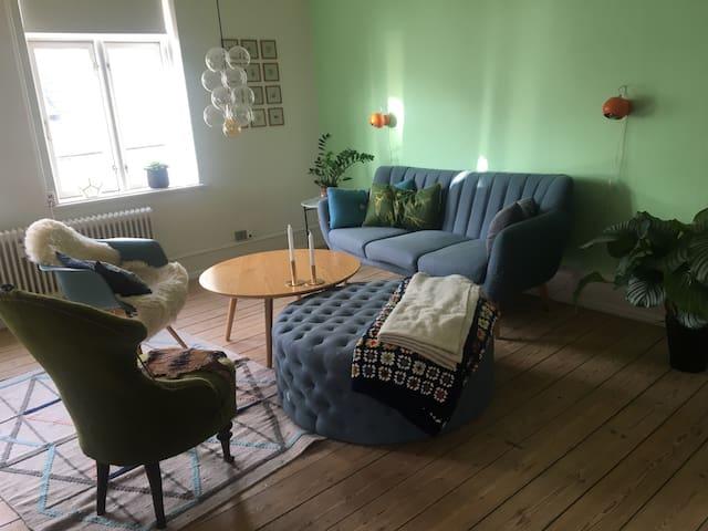 Stor lys lejlighed i Svendborg C - Svendborg - Wohnung