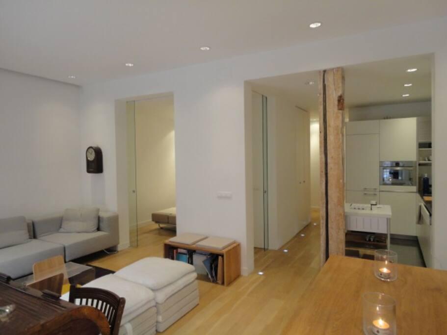 Moderno piso en chamber apartamentos en alquiler en for Pisos en chamberi madrid