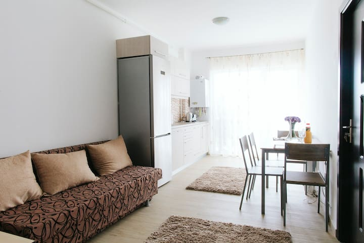 Sunny, brand new apartment. 1min from Iulius Mall - Cluj-Napoca - Apartemen