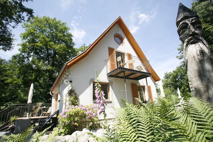 Kunst, Leben und Natur- Fewo 2 oben - Bad Waldsee - Rumah