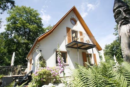 Kunst, Leben und Natur- Fewo 2 oben - Bad Waldsee - Hus