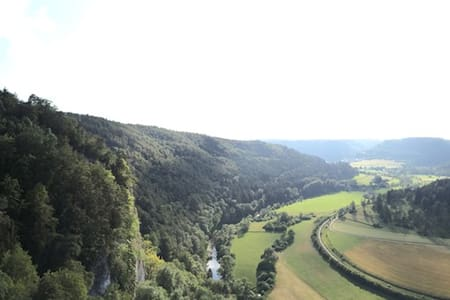Sonnige Wohnung über dem Donautal - Fridingen