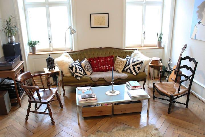 Apartment or small room  in Klein Basel near MESSE - Basel - Leilighet