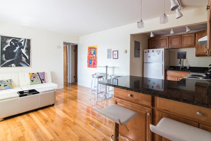 Large 1 BD Apartment near Harvard