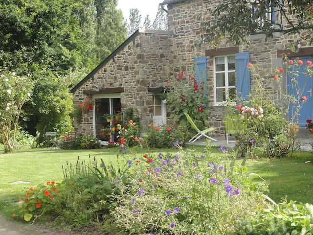 contemporary studio with garden - Dol-de-Bretagne - Daire