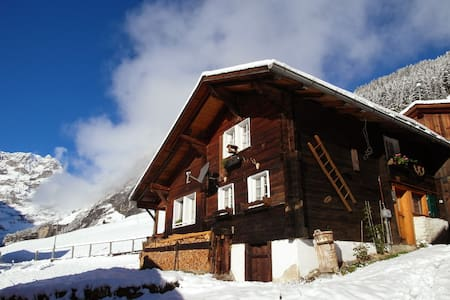 Cozy old chalet in Gimmelwald - Private room