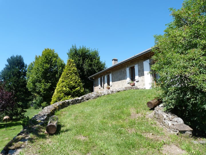 Renovated farmhouse between Ardèche & Haute-Loire