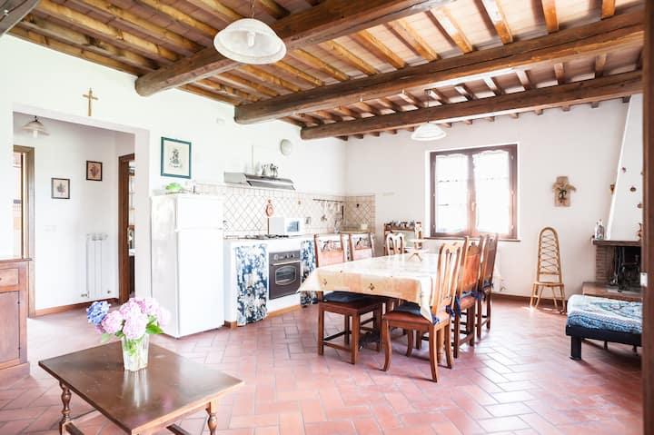 Apartment near Siena and Cortona