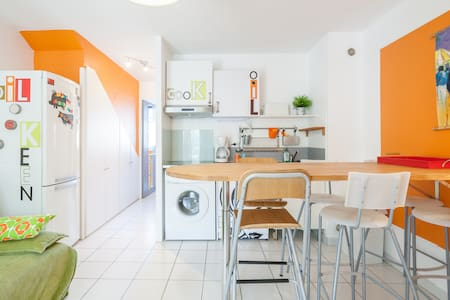 Cute little flat, 5min from ocean - Appartement
