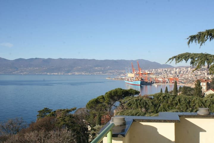 Beautiful Penthouse View - Rijeka - Byt