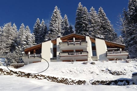 Chalet style cosy apartment with spectacular view - Flims