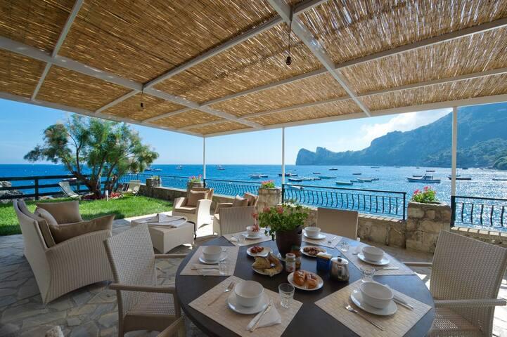 Villa il Sogno - on the sea - Nerano - Hus
