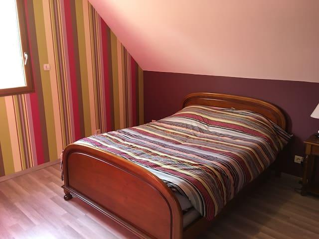 loue chambres prix  25euro par chambre