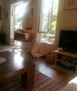 Lovely toscan style cozy appt - גדרה - 公寓