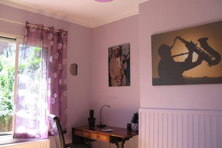 Chez Mitzou, chambre d'hôtes Jazz - Amiens