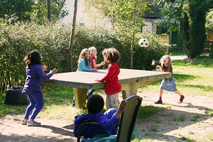 Tischtennis geht aber auch :)
