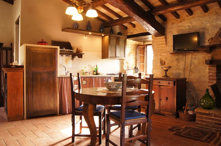 Living in a medieval castle in Umbria