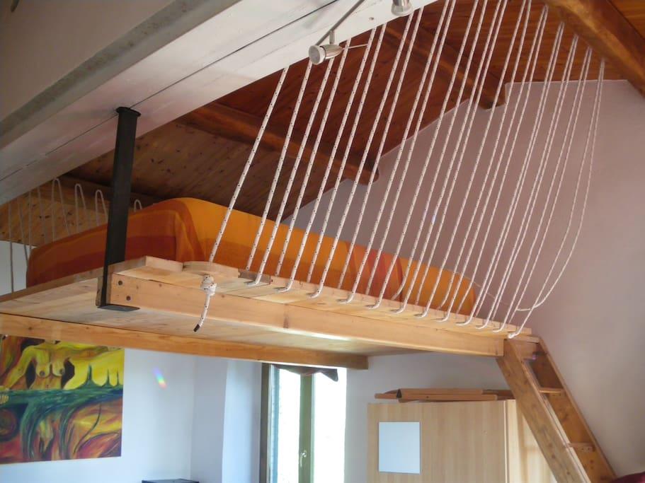 Letto a soppalco - Loft bed