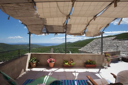 Chambres d'hotes,  vue mer, Corse - Cagnano