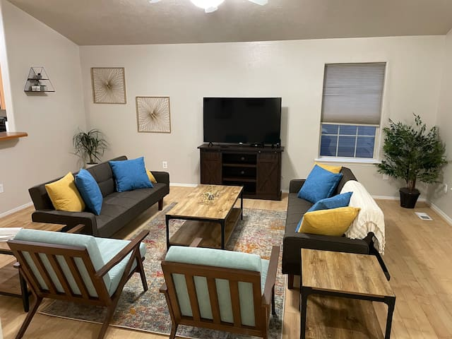 Adventure time awaits in our cozy home in meridian