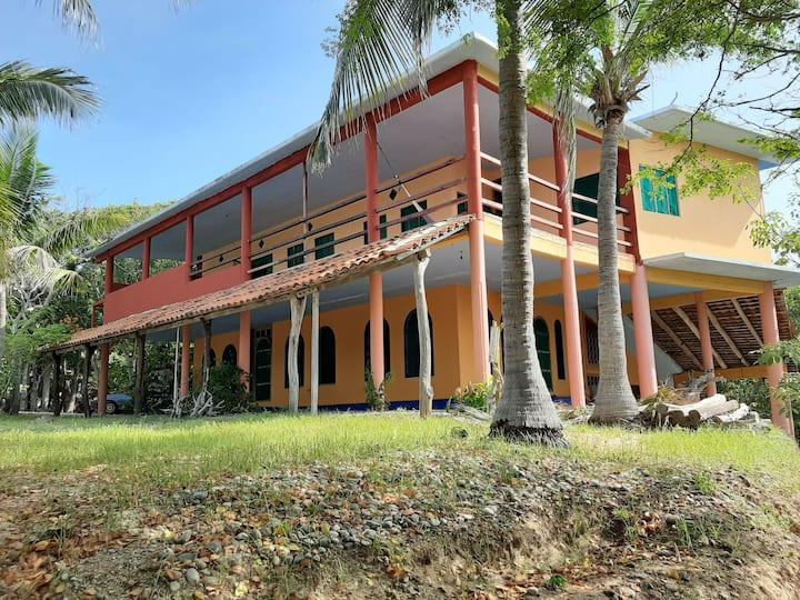 Casa Caoba TERRAZA PANORAMICA Puerto Angel Oax