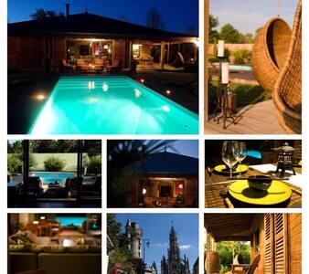 Week end à Bali 2h30 de Paris - Châteauneuf-sur-Cher - Rumah