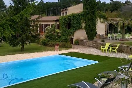 Maison Individuelle en Cévennes - Bordezac - Huis