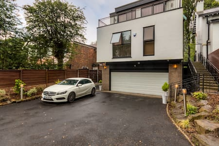 Swimming pool; Sleeps 20 Manchester - Prestwich - Dom
