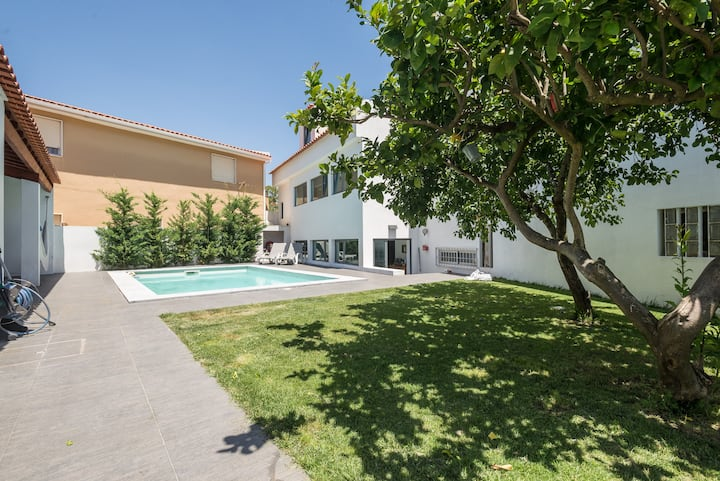 Wonderful house 10 minutes from Lisbon