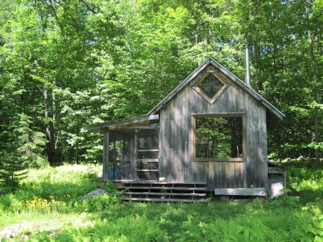 Hermit's Hut, High Meadow, Patchwork Farm Retreat - Westhampton - Hytte