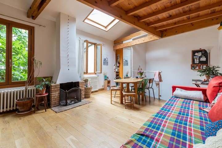 A Chalet in the city ! - Aubervilliers - Hus