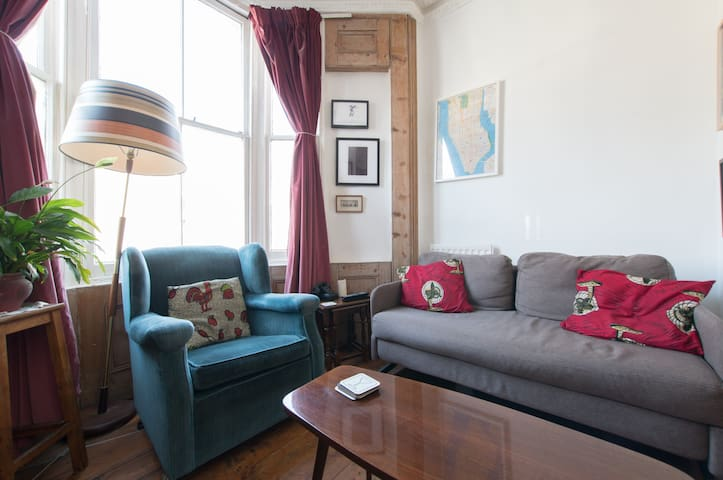 Bright flat in trendy Hackney - London - Apartment