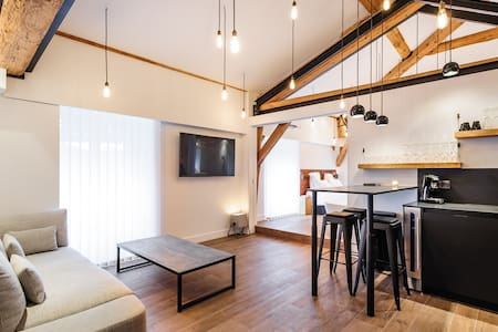 Mini-Loft with Rhone's dock seeing - Lyon