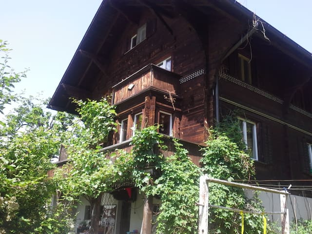 Room in Chalet with good view - Chur - Hus