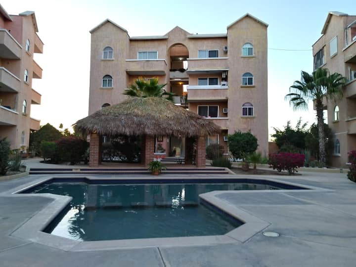 Apartment 10 minutes walking from beach