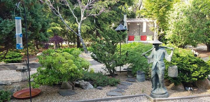 A New Seabury Retreat. Butchart Gardens' Inspired