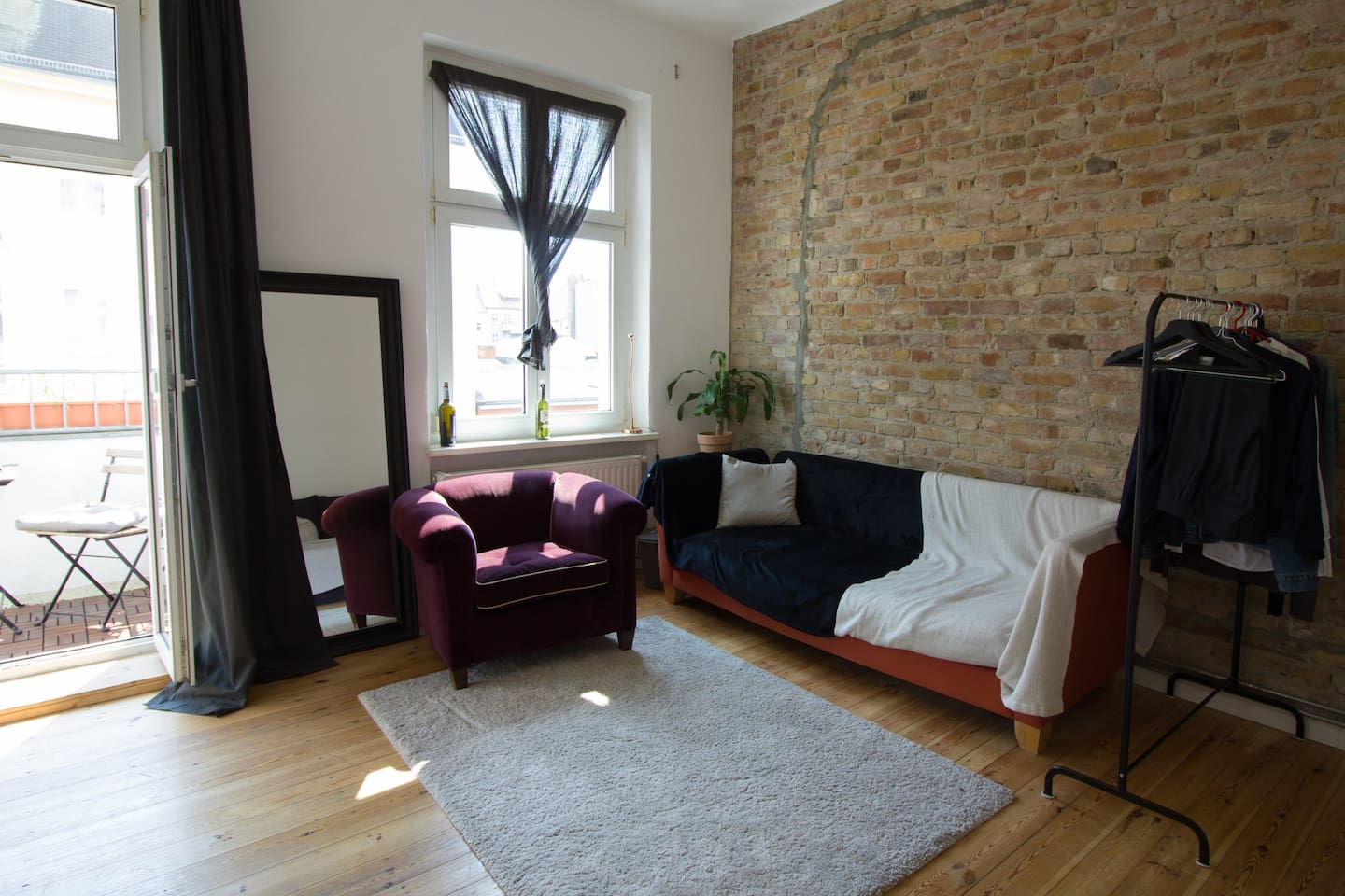 Bohemian room in Kreuzberg apartment