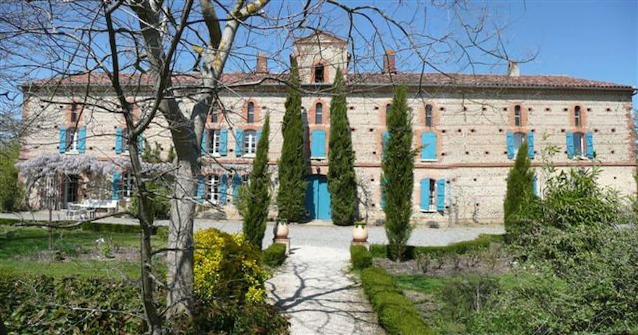 Grand gite rural avec piscine-3épis - Saint-Sulpice-sur-Lèze - Casa