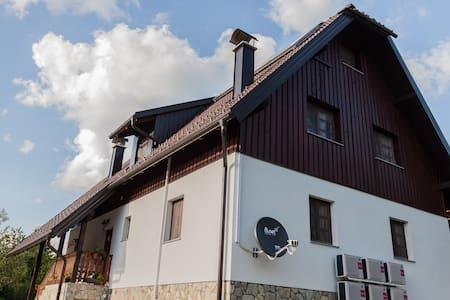 House Rustico Private Four-bed room - Plitvička Jezera