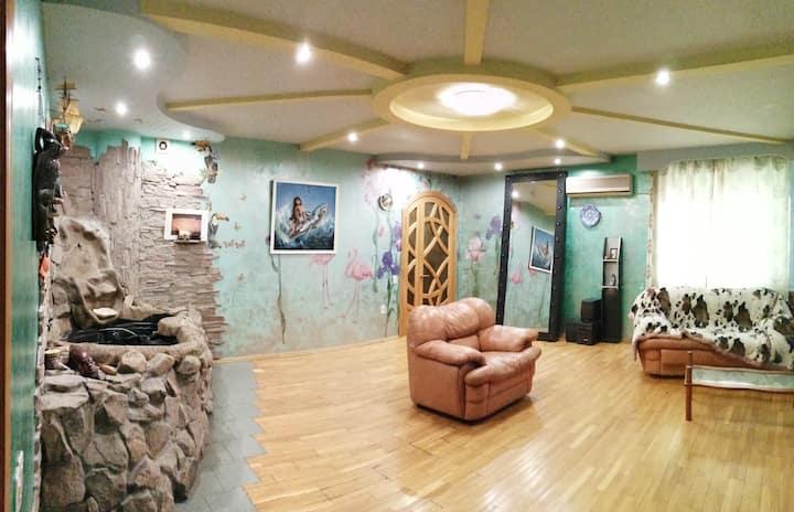 Приглашаем посетить квартиру 260 кв. м. с САУНОЙ
