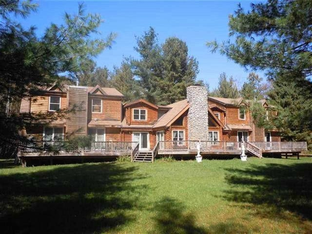Big Indian Log Home on the Esopus ! - Big Indian - Talo
