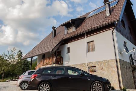 House Rustico Private Triple Room - Plitvička Jezera